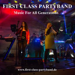 FIRST CLASS PARTYBAND Music For All Generations